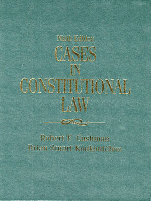 Cases in Constitutional Law (Hardback)