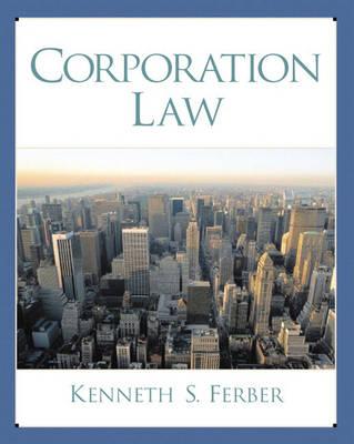 Corporation Law (Paperback)