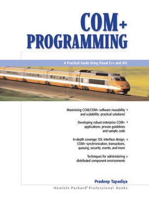 COM+ Programming: A Practical Guide Using Visual C++ and ATL (Paperback)
