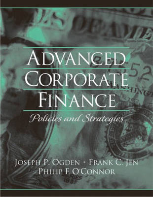 Advanced Corporate Finance (Paperback)