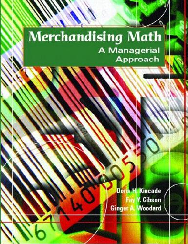 Merchandising Math: A Managerial Approach (Paperback)