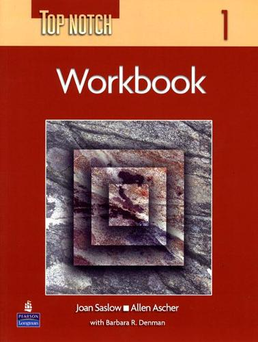 Top Notch 1 with Super CD-ROM Workbook (Paperback)