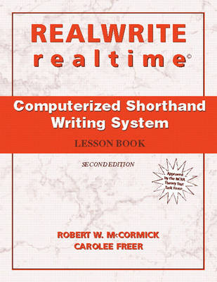 REALWRITE/realtime Computerized Shorthand Writing (Paperback)