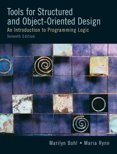 Tools For Structured and Object-Oriented Design: United States Edition
