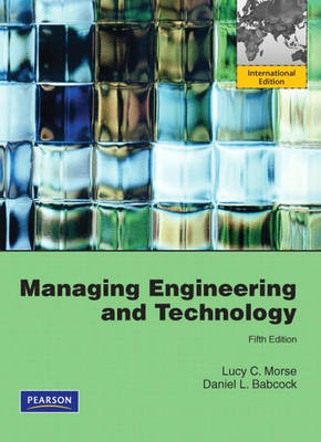 Managing Engineering and Technology: International Version (Paperback)