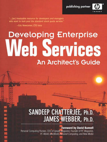 Developing Enterprise Web Services: An Architects Guide (Paperback)