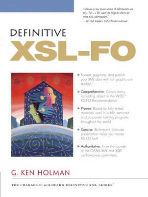 Definitive XSL-FO (Paperback)