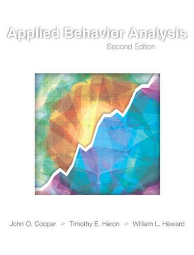 Applied Behavior Analysis (Hardback)