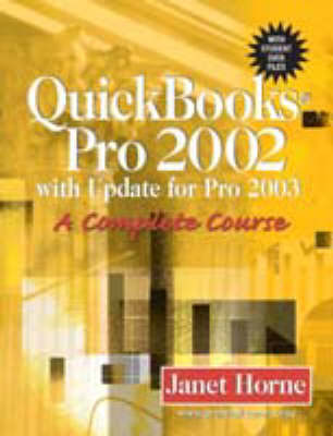 Quickbks Pro 2002 W/Updt for 2 (Paperback)