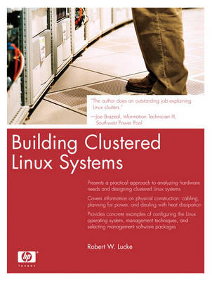 Building Clustered Linux Systems (Paperback)