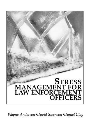 Stress Management For Law Enforcement Officers (Paperback)