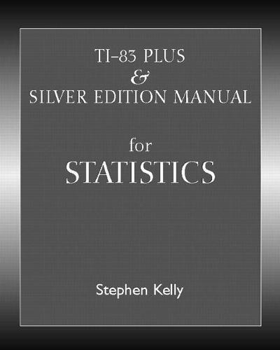 TI-83 Plus/Silver Manual (Paperback)
