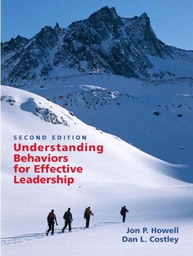 Understanding Behaviors for Effective Leadership (Paperback)