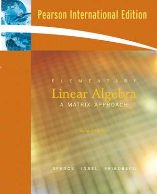 Elementary Linear Algebra (Paperback)