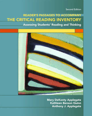 Readers' Passages for The Critical Reading Inventory: Assessing Student's Reading and Thinking (Paperback)