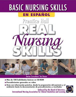 Prentice Hall Real Nursing Skills en Espanol (CD-ROM)