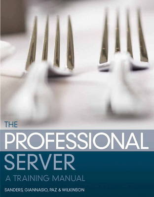 The Professional Server: A Training Manual (Paperback)