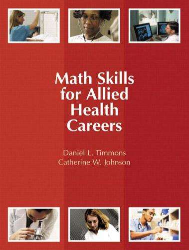Math Skills for Allied Health Careers (Paperback)