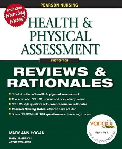 Pearson Nursing Reviews & Rationales: Health & Physical Assessment (Paperback)