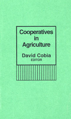 Cooperatives in Agriculture (Hardback)