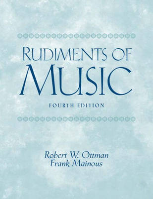 Rudiments of Music (Paperback)