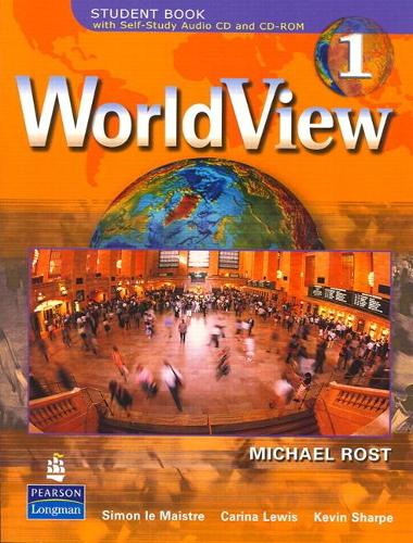 WorldView 1 with Self-Study Audio CD and CD-ROM Workbook (Paperback)