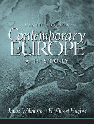 Contemporary Europe: A History (Paperback)