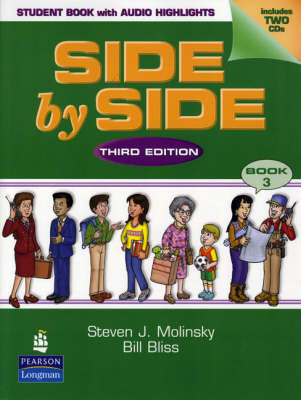 Side by Side 3 Student Book with Audio CD Highlights
