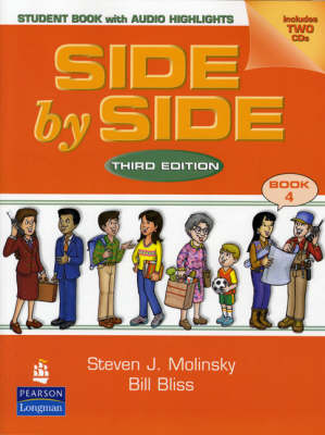 Side by Side 4 Sudent Book with Audio CD Highlights