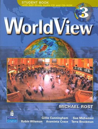 WorldView 3 with Self-Study Audio CD and CD-ROM Workbook 3A (Paperback)