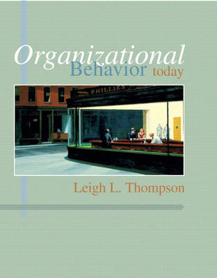 Organizational Behavior Today (Paperback)