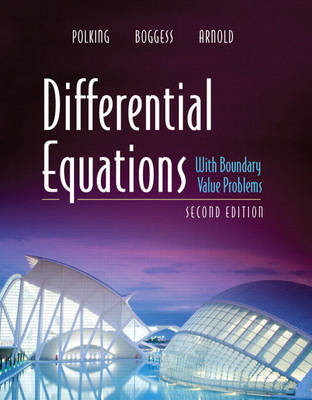 Differential Equations with Boundary Value Problems (Hardback)