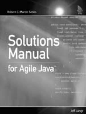 Sols/Manual Agile Java (Hardback)
