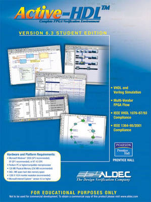Active-HDL 6.3 Student Edition (CD-ROM)