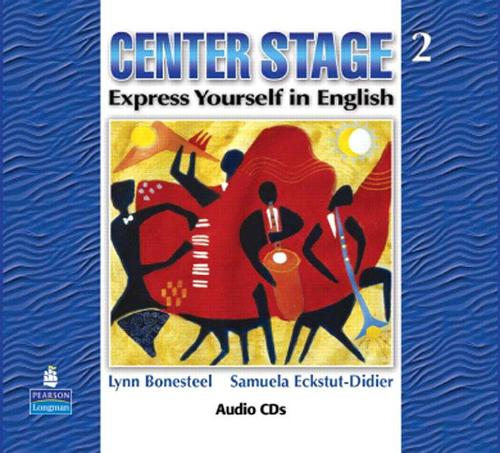 Center Stage 2 Audio CDs (CD-Audio)