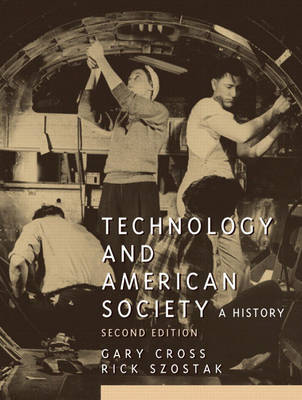 Technology and American Society (Paperback)