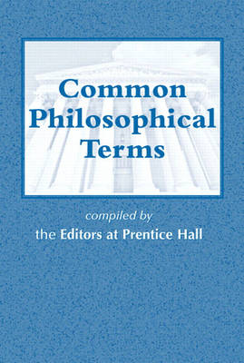 Common Philosophical Terms (Paperback)