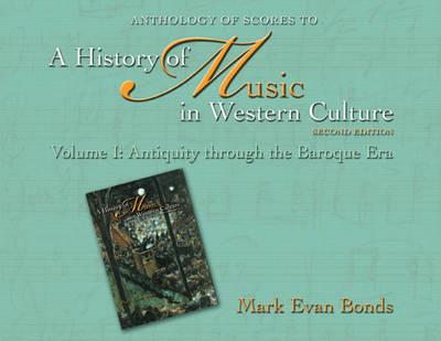 Anthology of Scores: v. 1 (Paperback)