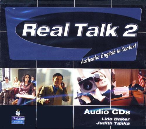 Real Talk 2: Authentic English in Context, Classroom Audio CD (CD-Audio)