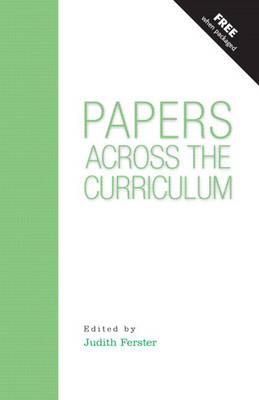 Papers Across the Curriculum (Paperback)
