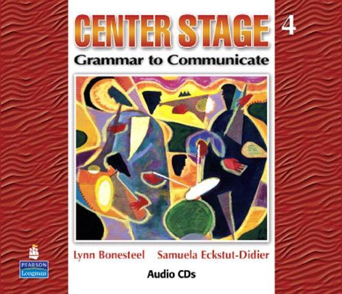 Grammar Talk: Center Stage 4 Audio CDs Center Stage Level 4 (CD-Audio)