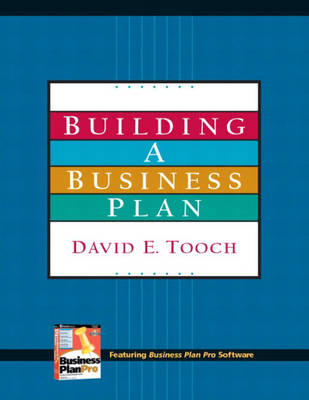 Building a Business Plan and Plan Pro Package