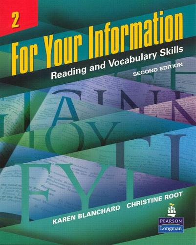 For Your Information 2: Reading and Vocabulary Skills (Paperback)