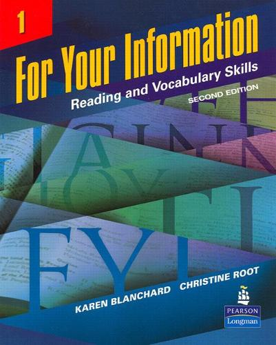 For Your Information 1: Reading and Vocabulary Skills (Paperback)