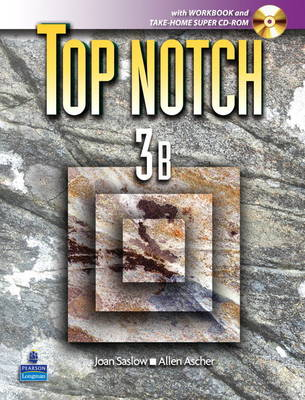 Top Notch 3 with Super CD-ROM Split B (Units 6-10) with Workbook and Super CD-ROM