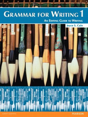 Grammar for Writing 1 (Paperback)