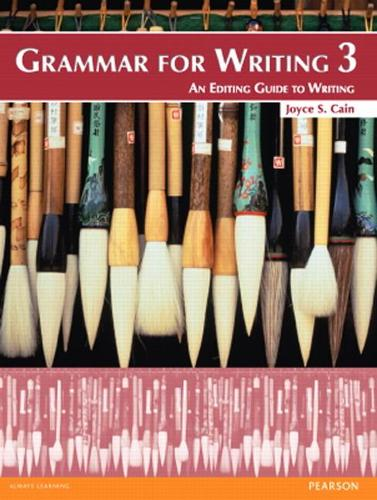 Grammar for Writing 3 (Paperback)