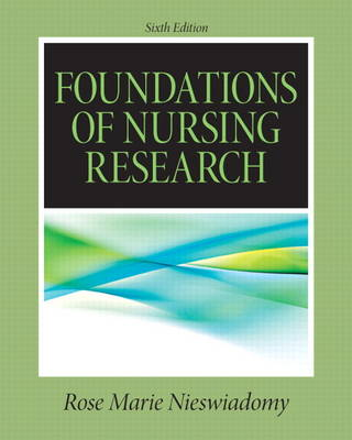 Foundations in Nursing Research (Paperback)