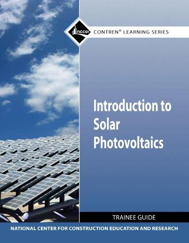 Introduction to Solar Photovoltaics TG module (Paperback)