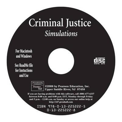 Criminal Justice Simulations Brief, CD-ROM (CD-ROM)